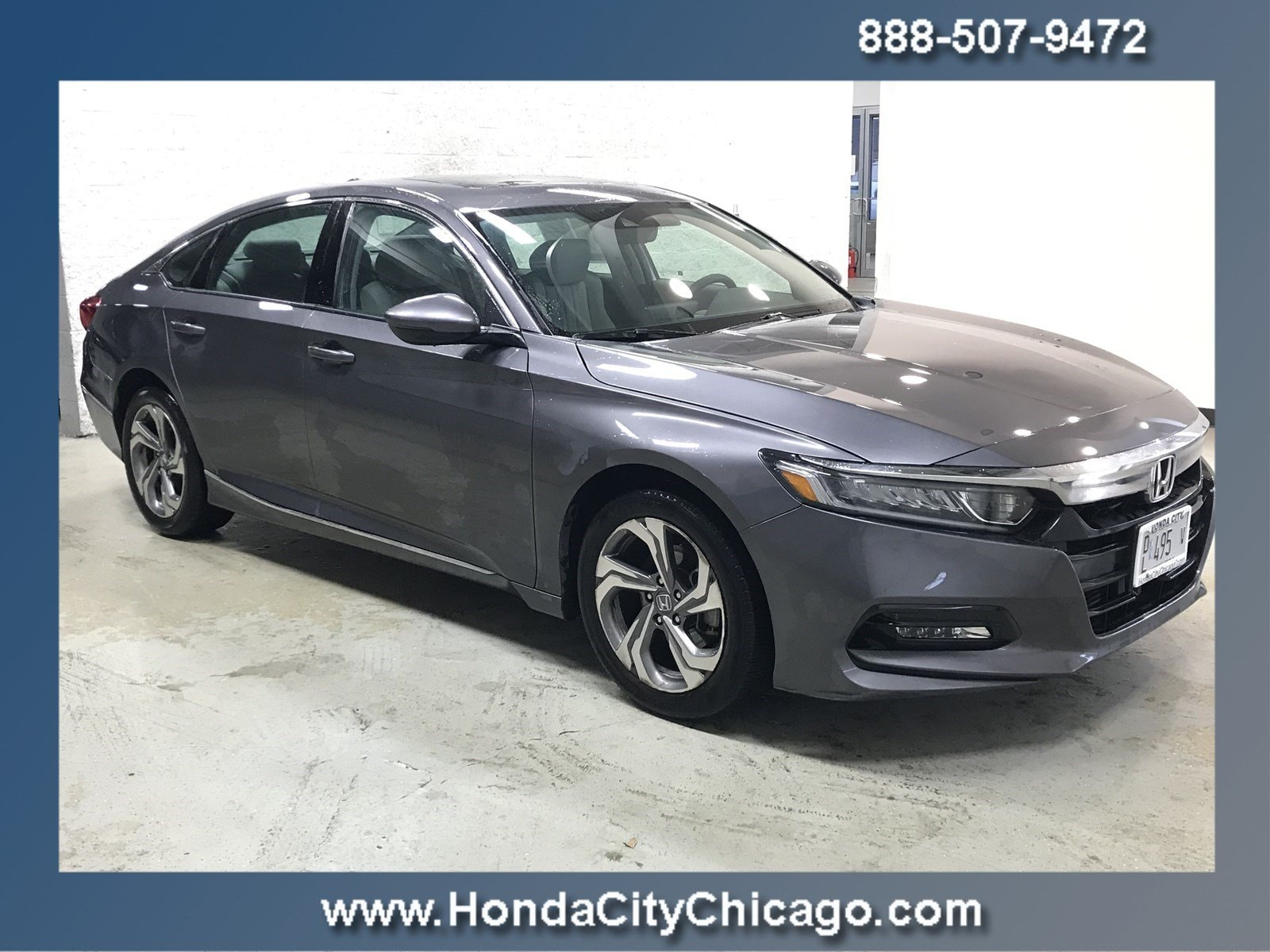 2018 Honda Accord Sedan EX-L 1.5T EX-L 1.5T CVT