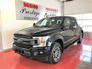 2018 Ford F-150 XLT CREW SPORT GROUPE 302A 2.7 ECOBOOST Camion boîte courte cabine double
