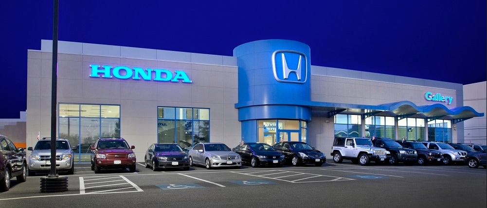 Honda dealership located near Peabody, MA