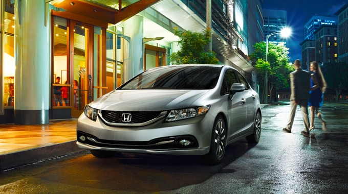 2014 Honda Civic Exterior View