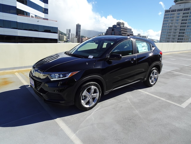 New 2019 Honda HR-V LX 2WD SUV in Honolulu