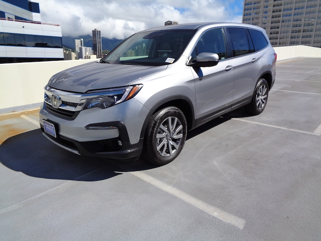 New 2019 Honda Pilot EX FWD SUV in Honolulu