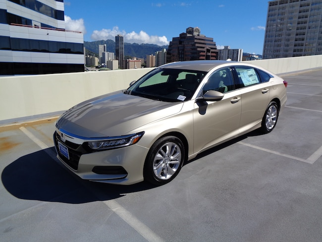 New 2019 Honda Accord LX Sedan in Honolulu