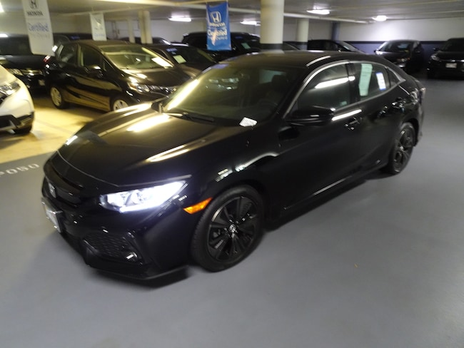 Certified Pre-Owned 2018 Honda Civic EX Hatchback Honolulu