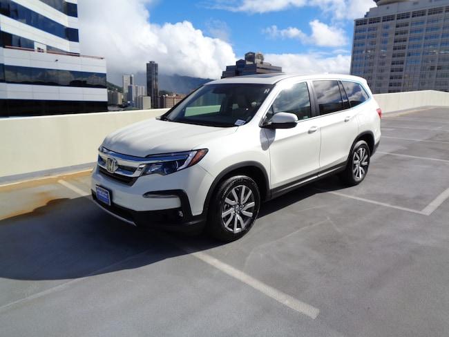 New 2019 Honda Pilot EX-L FWD SUV in Honolulu