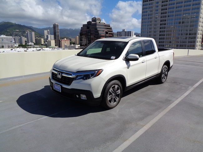 New 2019 Honda Ridgeline RTL AWD Truck Crew Cab in Honolulu