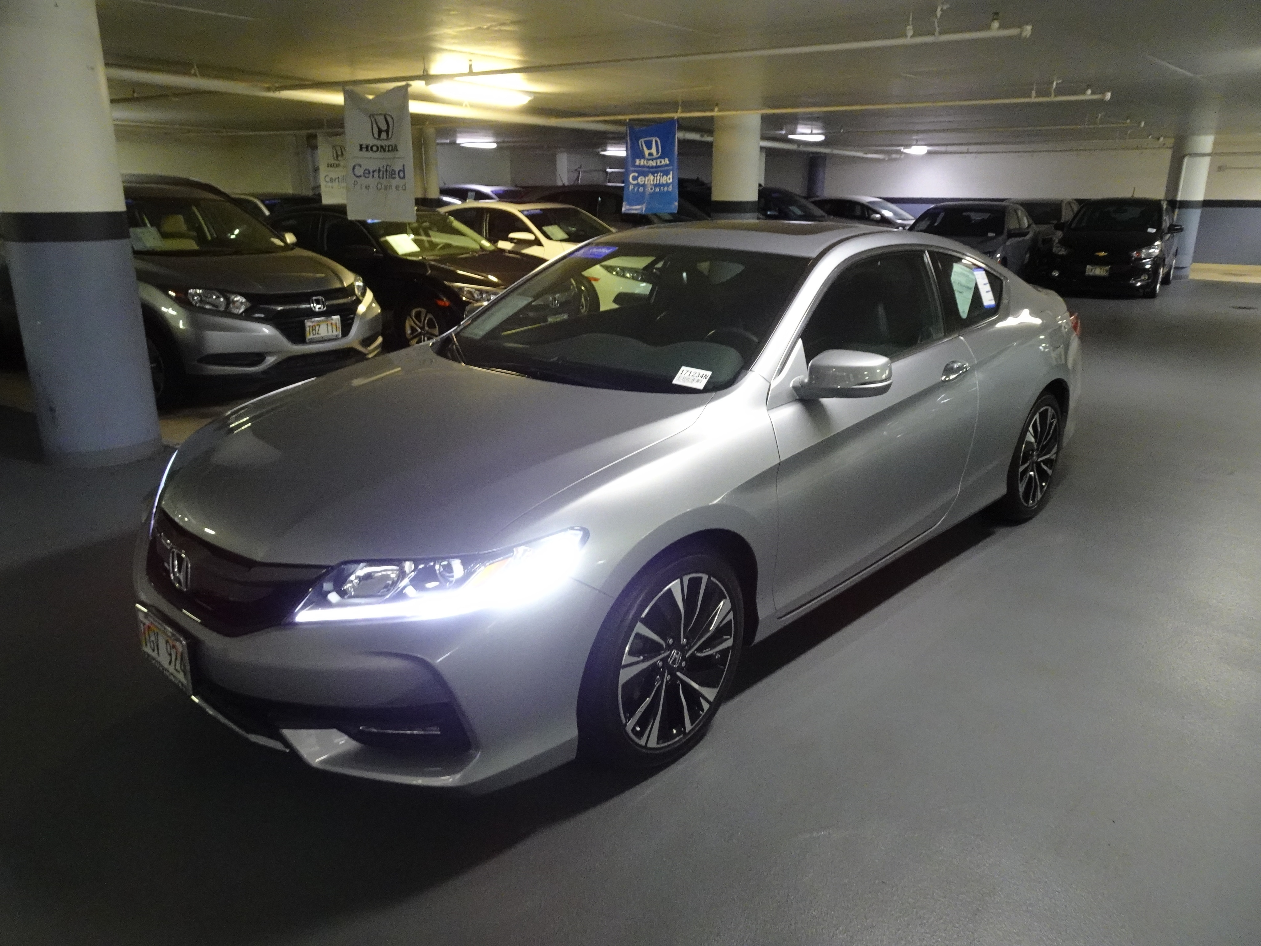 Used 2017 Honda Accord EX-L Coupe in Honolulu