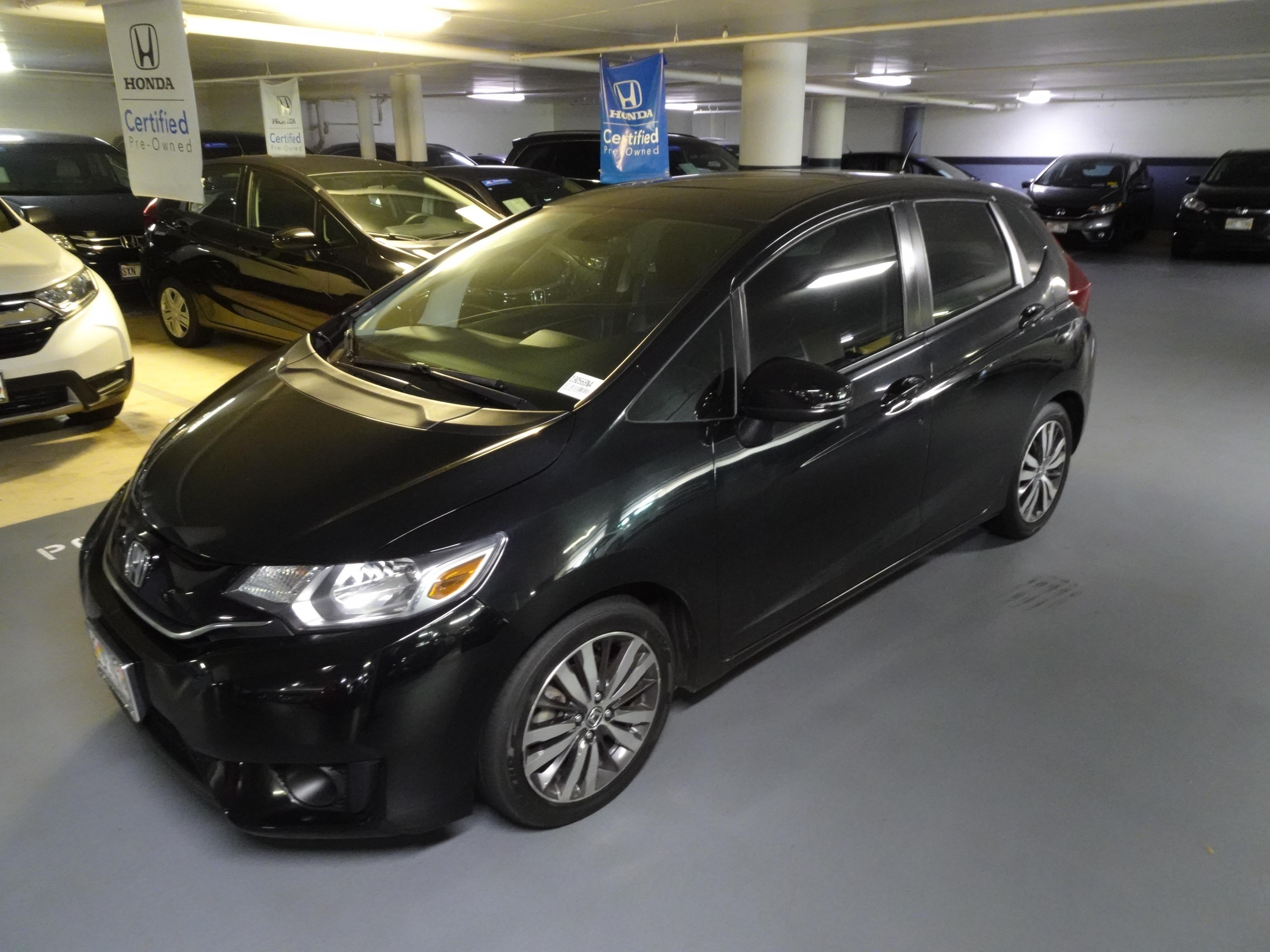 Used 2015 Honda Fit EX-L Hatchback in Honolulu