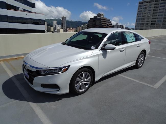 New 2019 Honda Accord LX Sedan in Honolulu