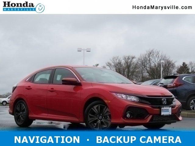 2018 Honda Civic EX-L Navi CVT Hatchback