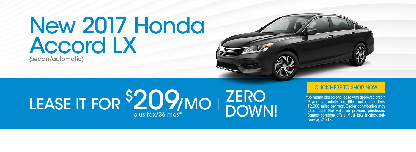 Superbe New Honda Car Specials In Marysville, OH