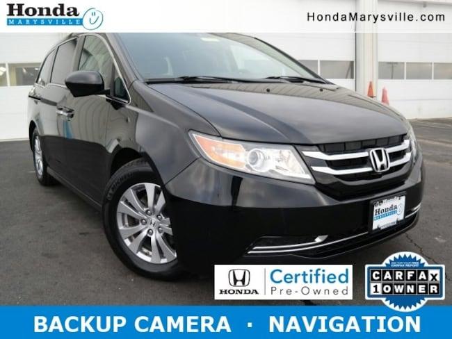 2014 Honda Odyssey EX-L Van