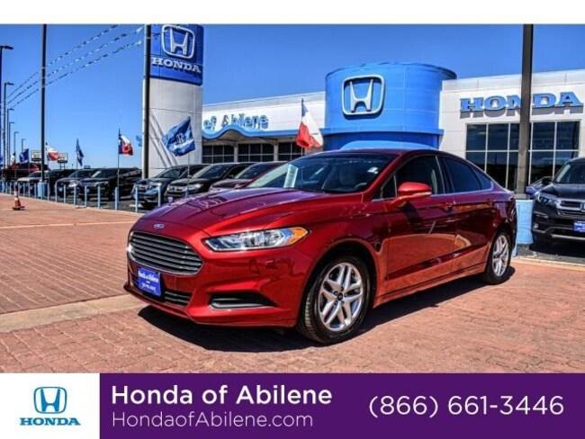 Used 2016 Ford Fusion SE Sedan Abilene, TX