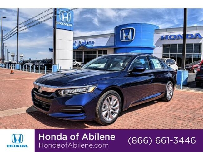New 2019 Honda Accord LX 1.5T CVT Sedan Abilene, TX