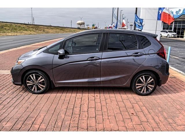 New 2019 Honda Fit EX CVT Hatchback Modern Steel For Sale in