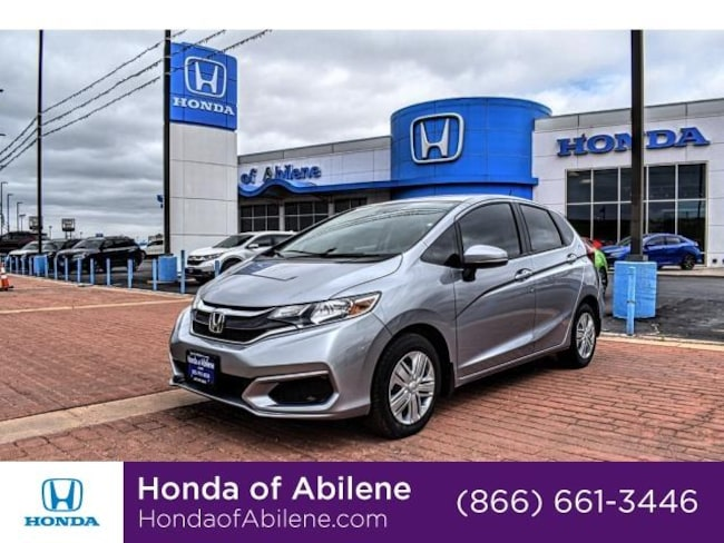 New 2019 Honda Fit LX CVT Hatchback Abilene, TX