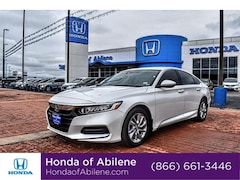 New 2020 Honda Accord LX 1.5T Sedan Abilene, TX