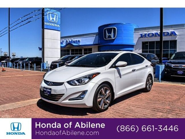 Used 2015 Hyundai Elantra Limited Sedan Abilene, TX