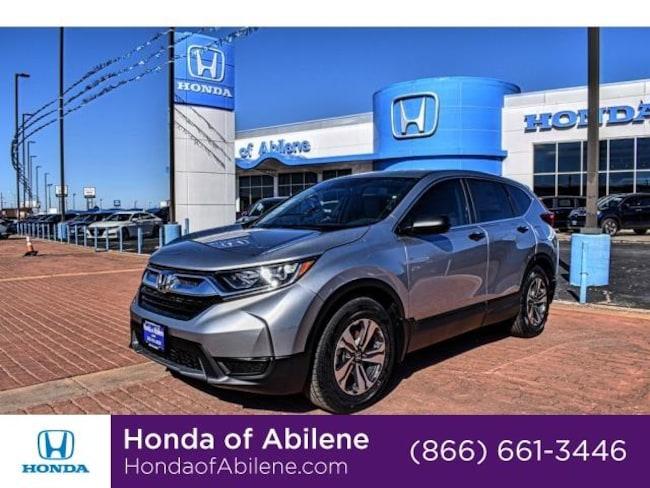 New 2019 Honda CR-V LX 2WD SUV Abilene, TX
