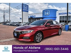 New 2020 Honda Accord Hybrid Base Sedan Abilene, TX