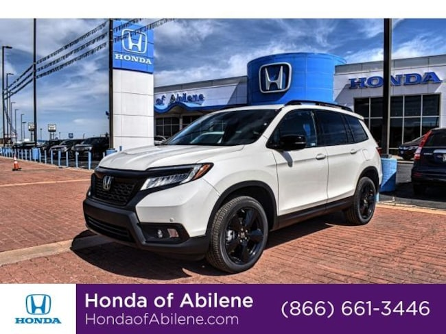 New 2019 Honda Passport Elite Awd Suv White Diamond Pearl For