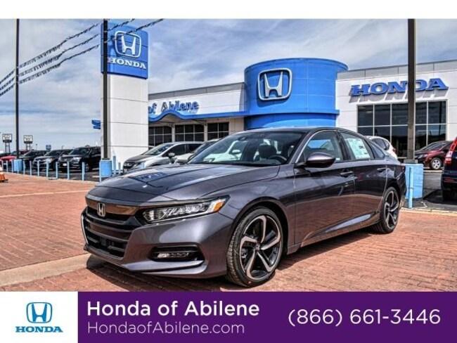 New 2019 Honda Accord Sport 2.0T Auto Sedan Abilene, TX