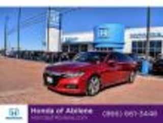 Certified Pre-Owned 2018 Honda Accord Touring Sedan Abilene, TX