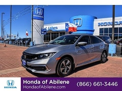 New 2019 Honda Civic LX CVT Sedan Abilene, TX
