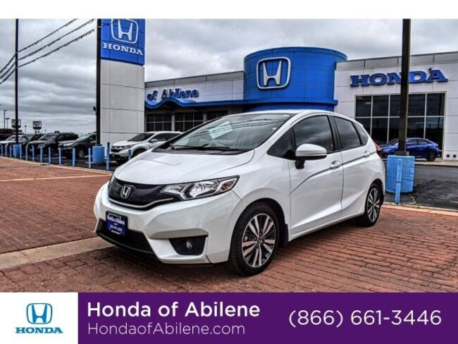 Used 2016 Honda Fit EX Hatchback Abilene, TX