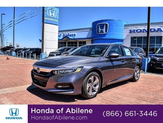 New 2019 Honda Accord EX-L 1.5T CVT Sedan Abilene, TX