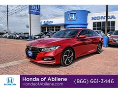 New 2020 Honda Accord Sport 1.5T Sedan Abilene, TX