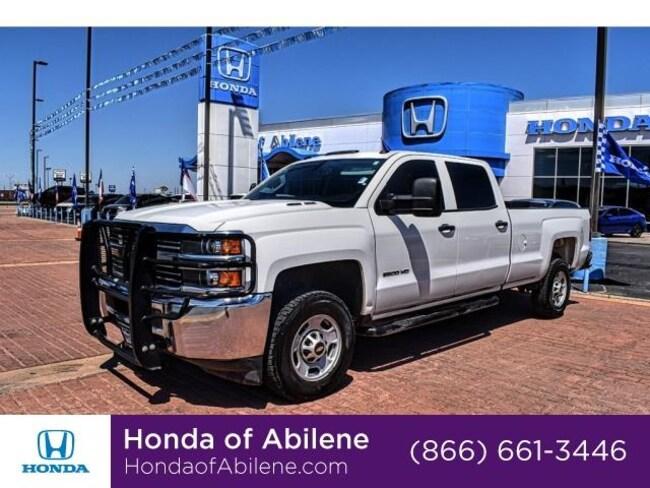 Used 2015 Chevrolet Silverado 2500HD WT Truck Crew Cab Abilene, TX