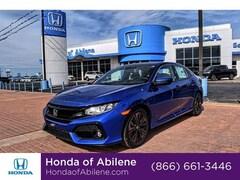 New 2019 Honda Civic EX-L Navi CVT Hatchback Abilene, TX