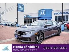 New 2019 Honda Civic Sport Manual Sedan Abilene, TX