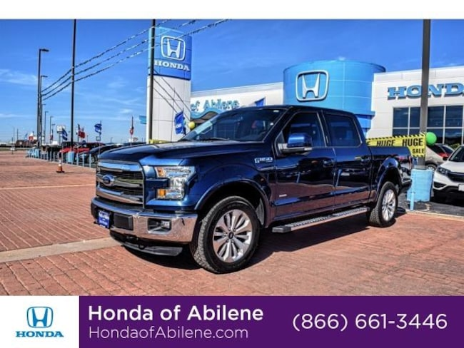 Used 2015 Ford F-150 Truck SuperCrew Cab Abilene, TX