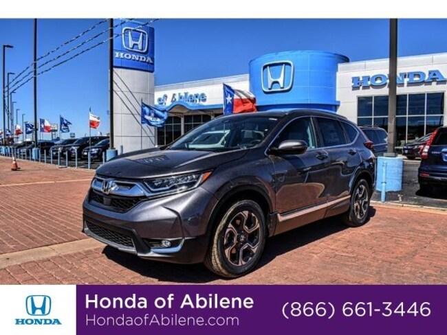 New 2019 Honda CR-V Touring 2WD SUV Abilene, TX