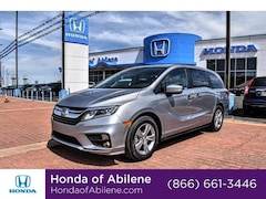 New 2019 Honda Odyssey EX-L w/Navi/RES Auto Van Abilene, TX