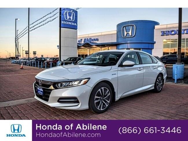 New 2018 Honda Accord Hybrid Sedan Sedan Abilene, TX