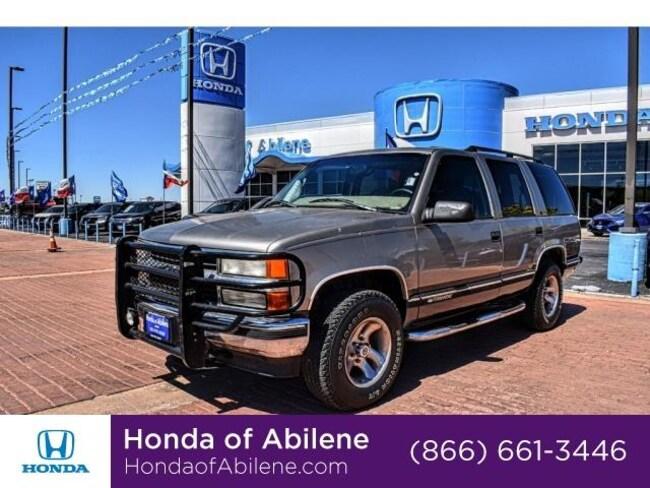 Used 1999 Chevrolet Tahoe SUV Abilene, TX