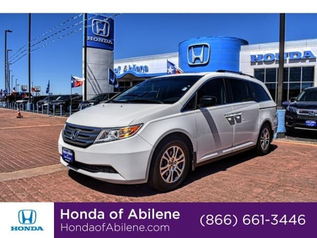 9fbf88a060 Used 2012 Honda Odyssey EX-L Van Taffeta White For Sale in ...