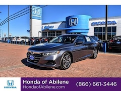 New 2021 Honda Accord Hybrid Base Sedan Abilene, TX