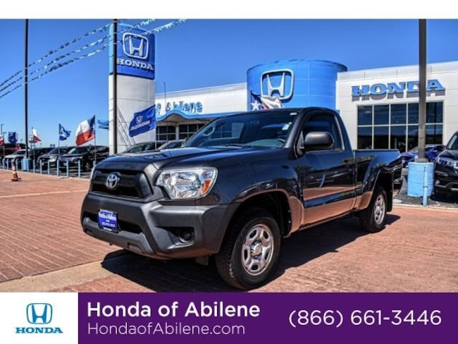 Used 2013 Toyota Tacoma Manual Truck Regular Cab Abilene, TX