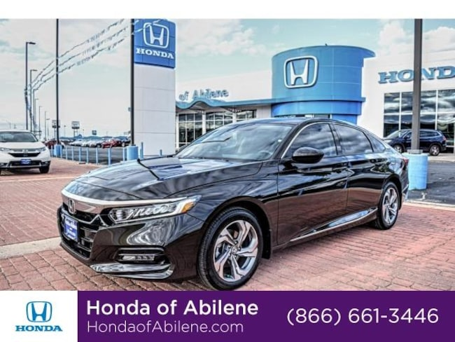 New 2018 Honda Accord EX 1.5T CVT Sedan Abilene, TX