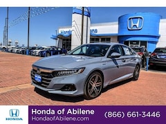 New 2021 Honda Accord Hybrid Touring Sedan Abilene, TX
