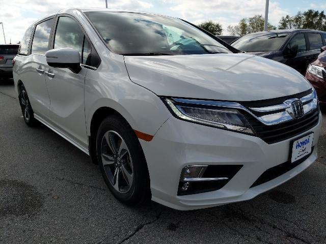 New 2019 Honda Odyssey Touring Van Ames, IA