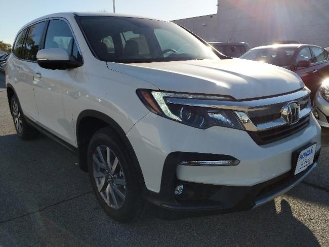 New 2019 Honda Pilot EX-L w/Navi & RES AWD SUV for sale in Ames IA