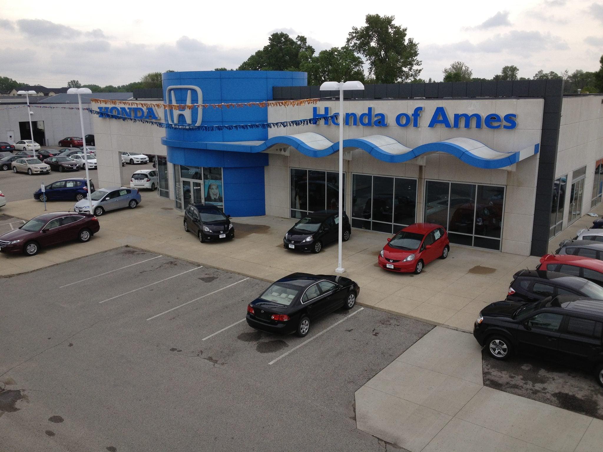 Ames Car Dealers >> Honda Of Ames New Used Honda Dealership Near Des Moines