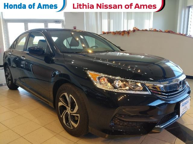 Used 2017 Honda Accord LX CVT Sedan Ames, IA