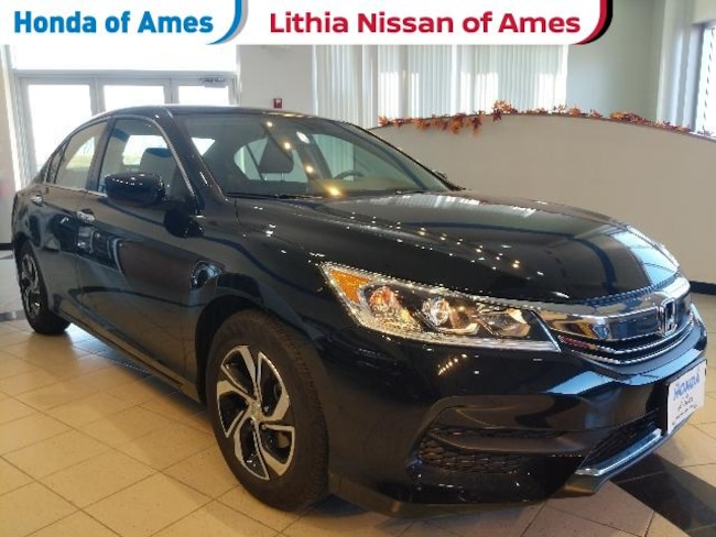 Certified Pre-Owned 2017 Honda Accord LX CVT Sedan for sale in Ames IA