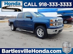 used 2015 Chevrolet Silverado 1500 LT Truck Crew Cab for sale in Bartlesville